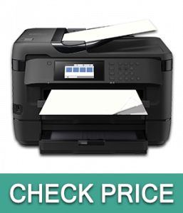 Epson WorkForce WF-7720 Wireless Color Inkjet Printer