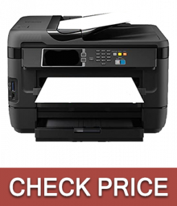 Epson WorkForce WF-3620 WiFi Direct Color Printer